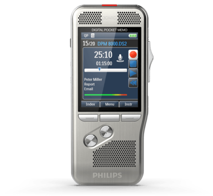 Philips Digital Pocket Memo DPM-8000