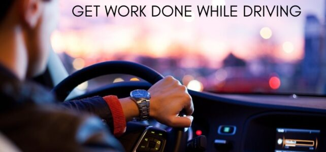 Get Work Done While Driving with Dragon Speech Recognition