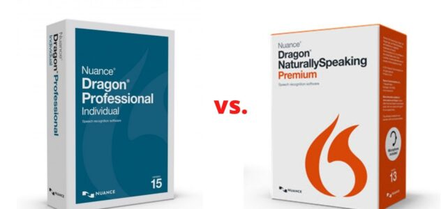 Dragon Premium 13 vs. Dragon Professional 15