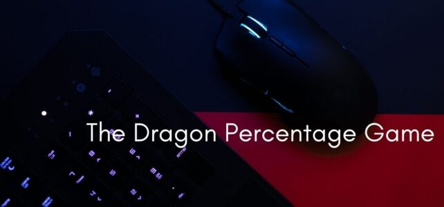 The Dragon Percentage Game: Speech Recognition, Keyboard and Mouse
