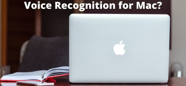 Voice Recognition Software for Mac?